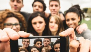 Evil millennial zombies gone dumb from their smartphones